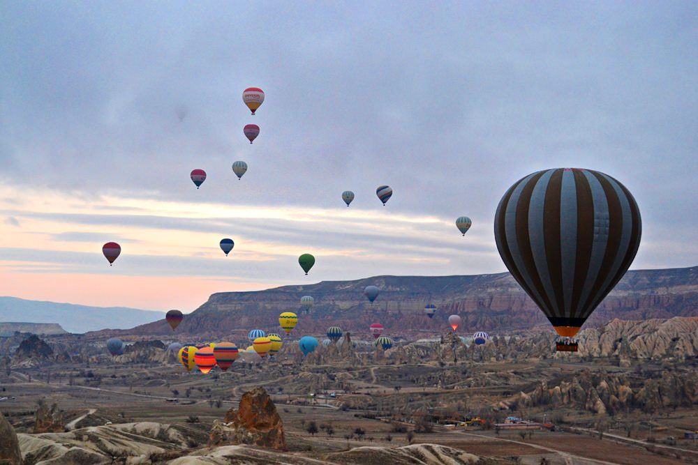 Turkey Cappadocia hot air Balloons